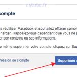 Comment se désinscrire de Facebook / Supprimer compte facebook