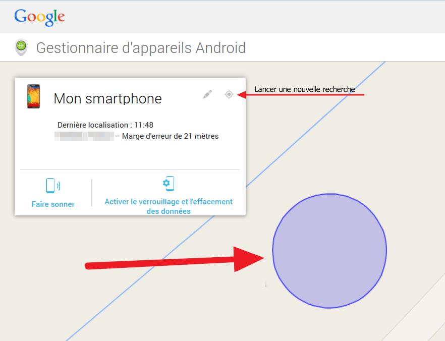 Localiser un smartphone Android perdu ou volé