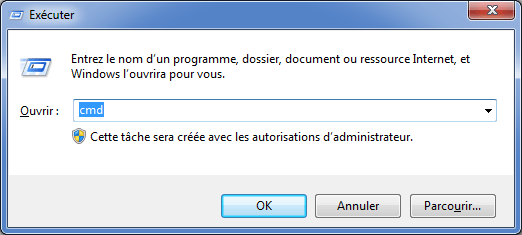 Faire un Checkdisk (chkdsk) sous Windows 7