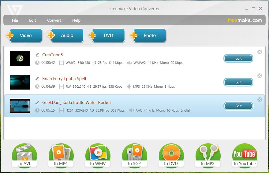 Télécharger Freemake Video Converter (gratuit)