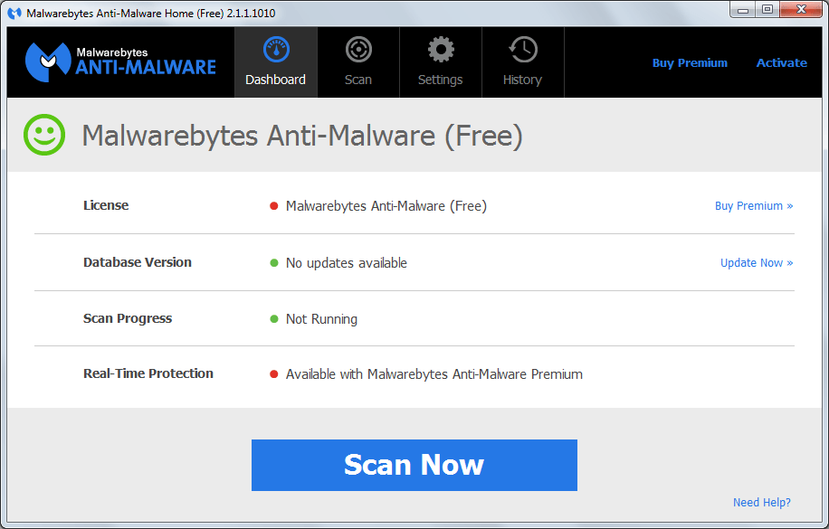 malwarebytes anti malware t l charger mbam gratuit. Black Bedroom Furniture Sets. Home Design Ideas