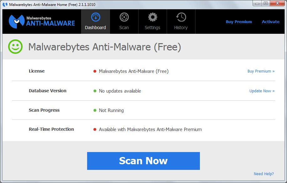 malwarebytes anti malware t l charger mbam gratuit. Black Bedroom Furniture Sets. Home Design Ideas