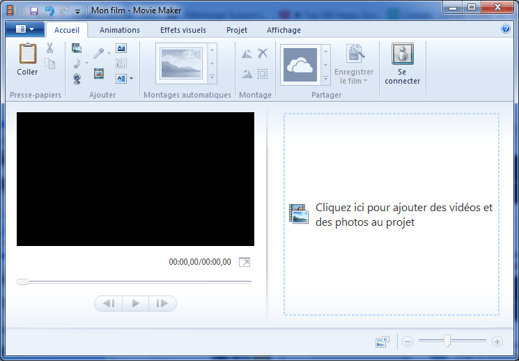 Télécharger Windows Movie Maker 12 gratuit