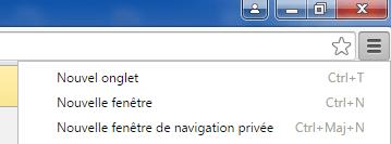 Navigation privée (InPrivate) dans votre navigateur