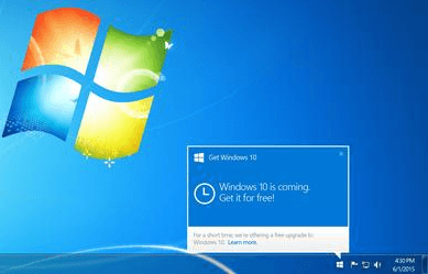 Supprimer (masquer) l'icône «Obtenir Windows 10» facilement