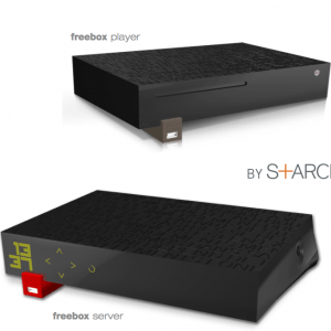 Solution : Association avec le serveur Freebox en cours