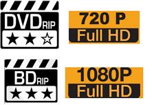 Définitions : BDRip, HDRip, DVDRip, HDLight, Web-DL, WebRip