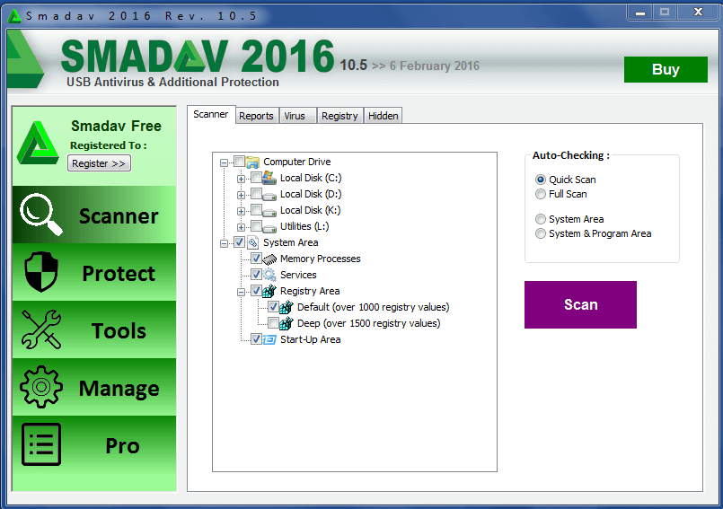 SmadAV 2018 – Télécharger SmadAV antivirus (gratuit)