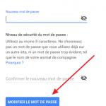 Changer mot de passe Gmail / Récupérer mot de passe oublié