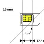Nano SIM : découpe, dimensions (iPhone 7 – 6 – 5, Samsung, HTC, …)