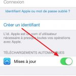 Désactiver mise à jour automatique iPhone des applications (Snapchat …)