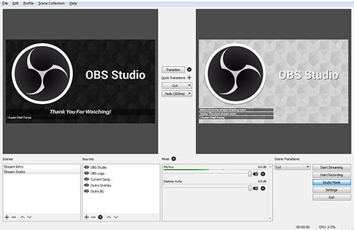 Télécharger OBS Studio (Open Broadcaster Software) gratuit (Windows)