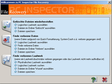 Télécharger PC Inspector File Recovery gratuit (Windows)