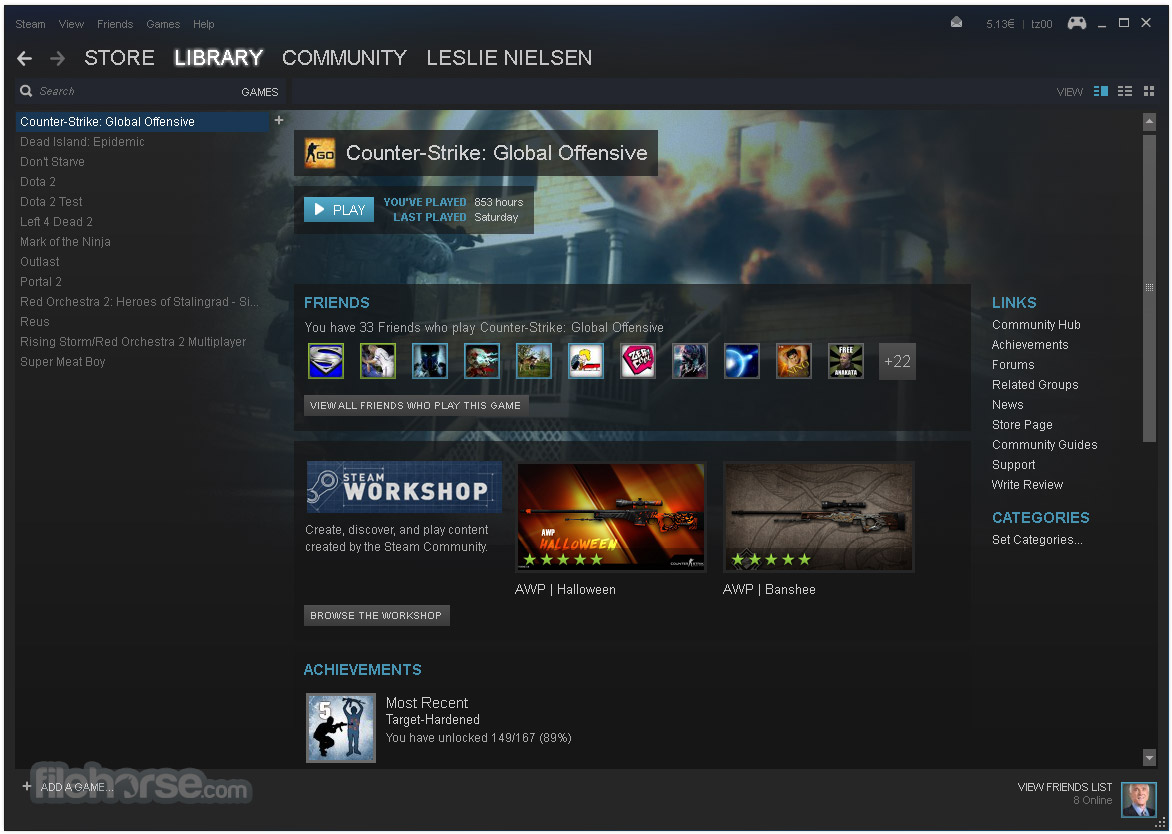 Télécharger Steam gratuit (Windows)