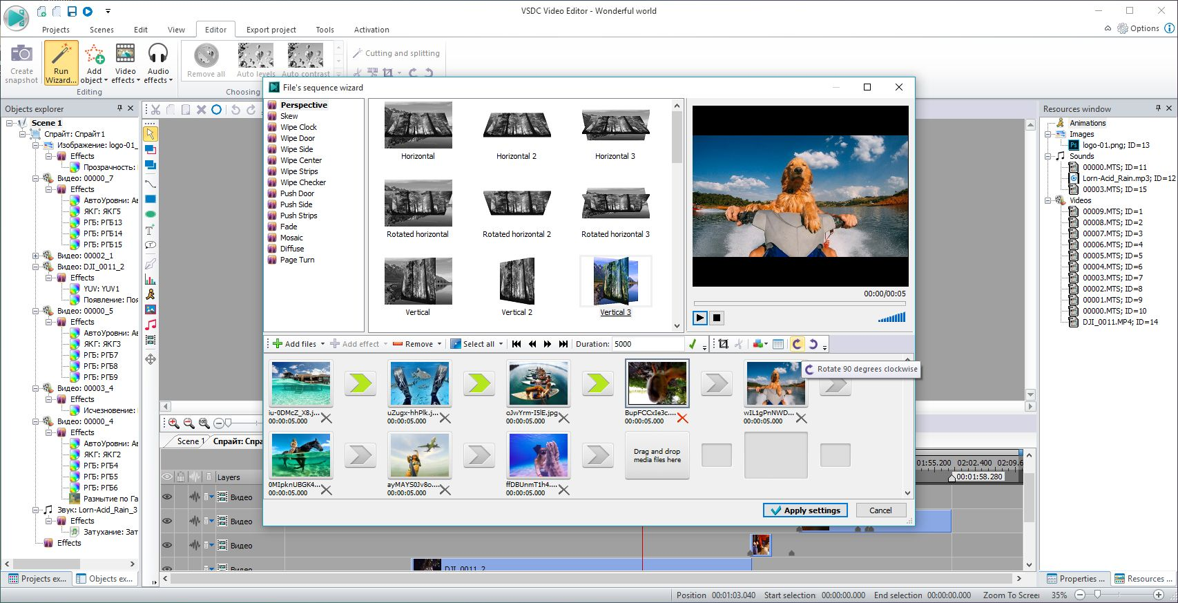 Télécharger VSDC Free Video Editor gratuit (Windows)