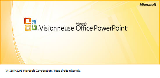 Télécharger Visionneuse PowerPoint 2007 gratuite (Windows)
